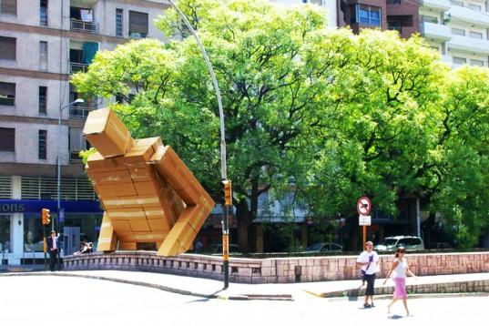 Pablo Curutchet Massive Cardboard Box Man