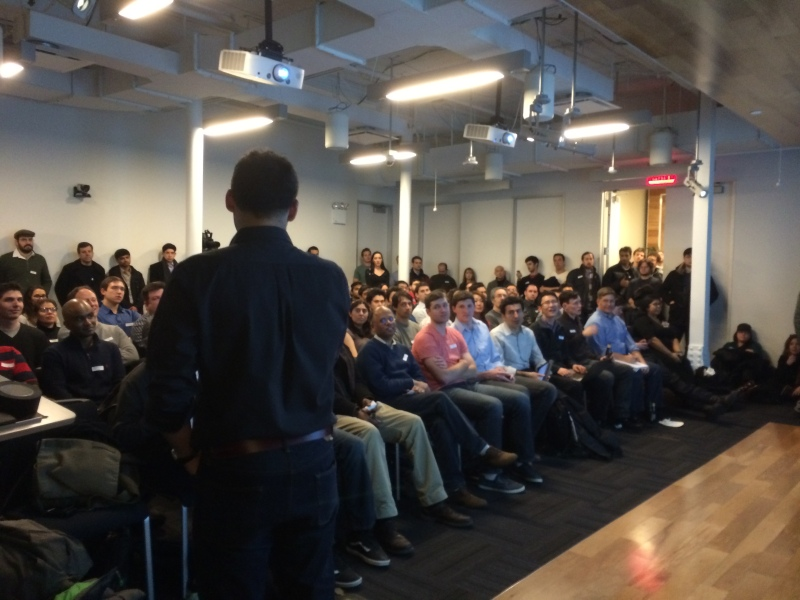 15th NY Hardware Meetup a packed house
