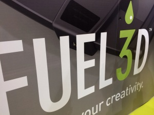 Fuel 3D at the 3D Printshow NYC 2014