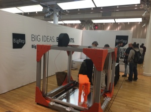 BigRep at the 3D Printshow NYC 2014