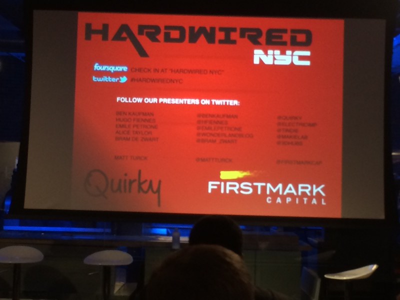 Hardwired NYC #7 Feb 2014