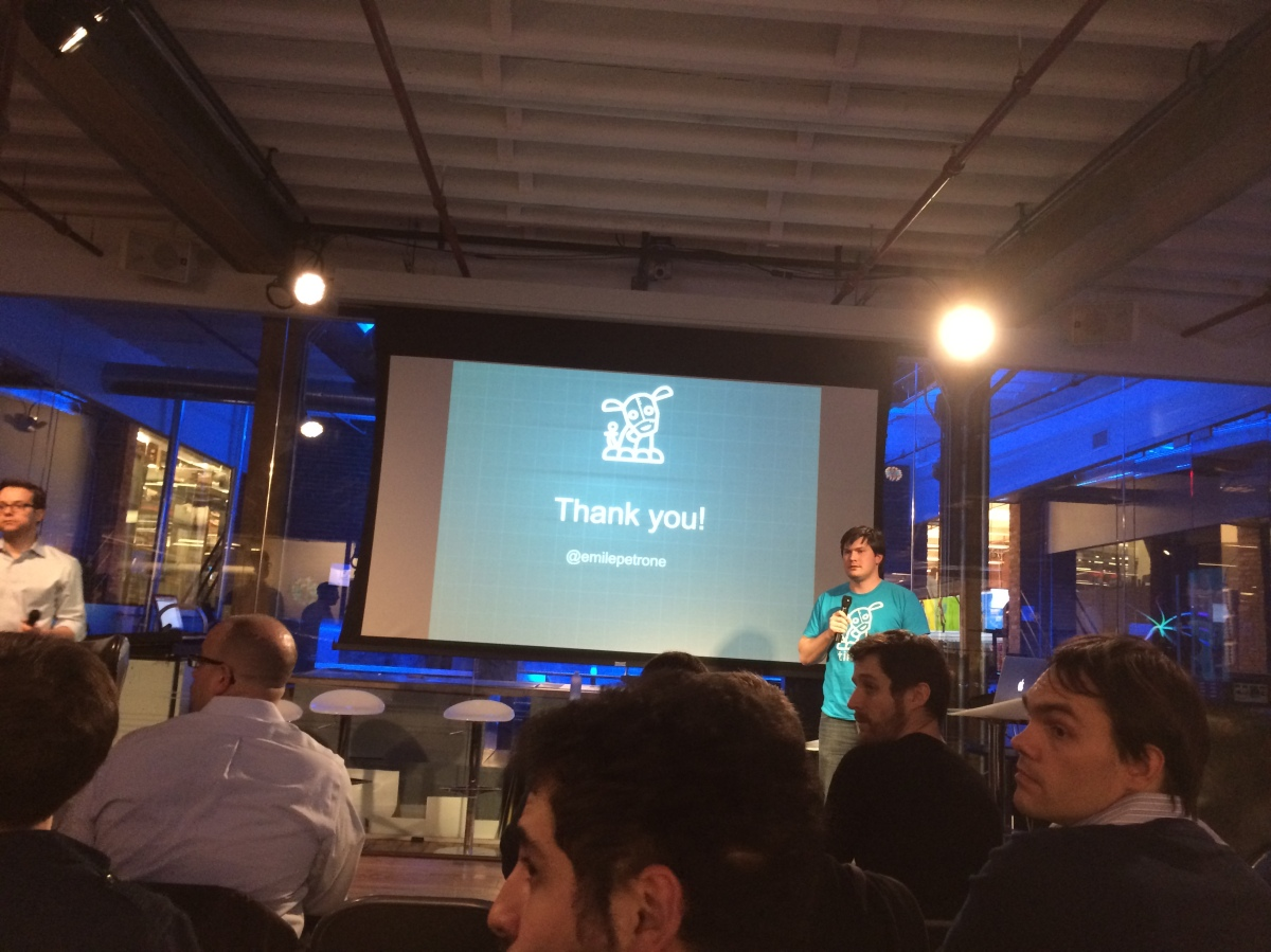 """Emile Petrone, founder and CEO of Tindie (marketplace for hardware and """"indie tech"""")"""