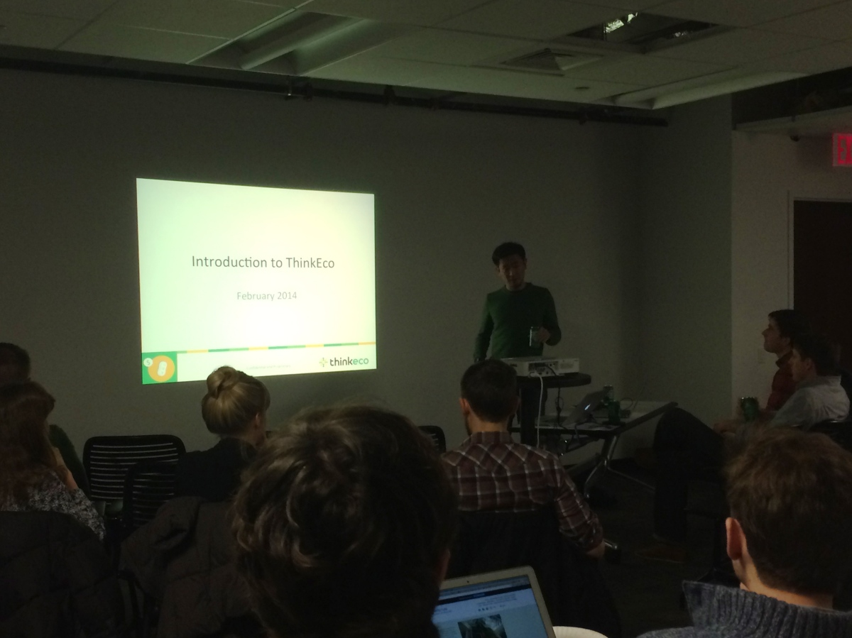 Jun Shimada Co-founder of ThinkEco Presents