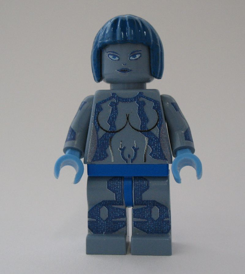 Cortana Lego Person