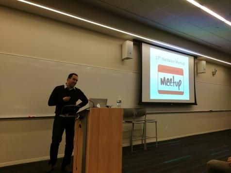 Hardware Meetup Organizer Haytham Elhawary