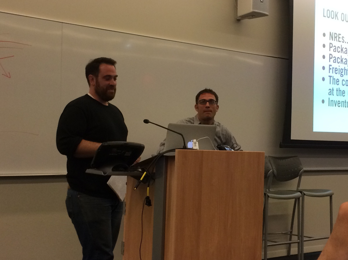Tom Kennedy (EnergyHub & Refactory) and Stephan von Muelhen (EnergyHub)